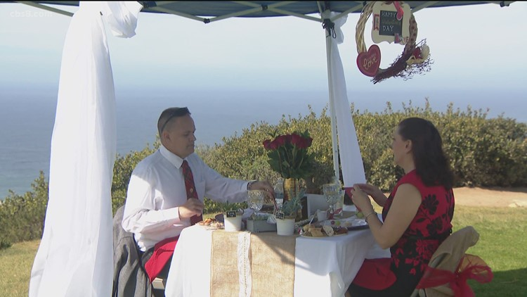 First responder Valentine's Day | San Diego couple reflects on growing closer amid COVID