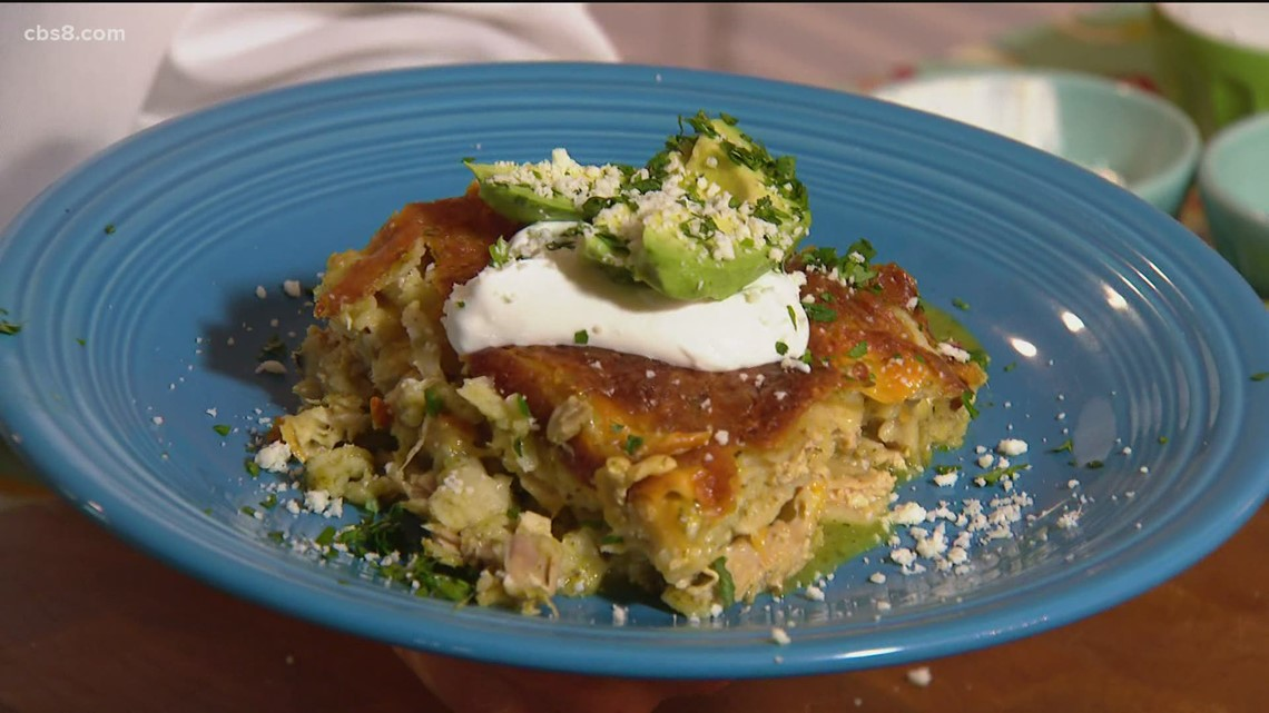 Cooking with Styles: Mexican Lasagna