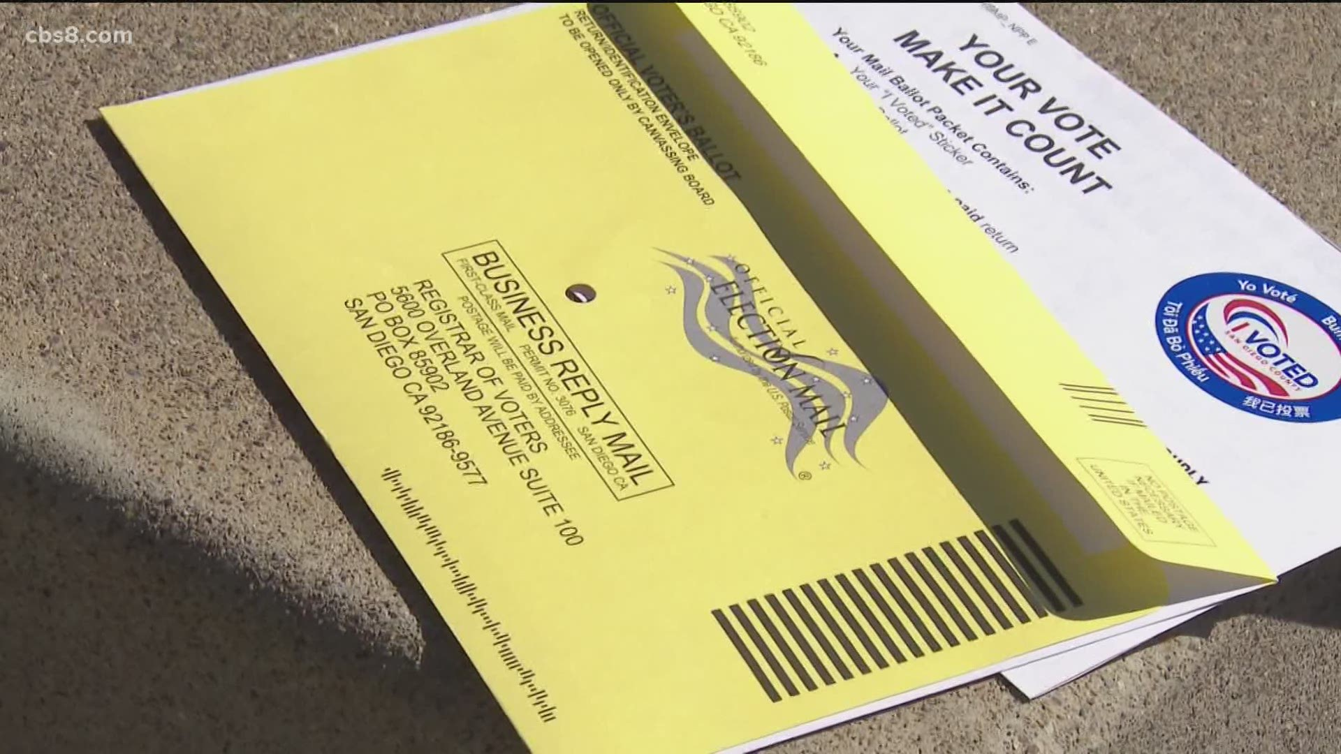 Count Me In Mail Ballot Drop Off Locations Doubled In San Diego County Cbs8 Com