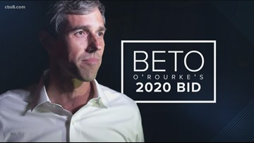 Democratic presidential candidate Beto O'Rourke holds town hall in San Diego