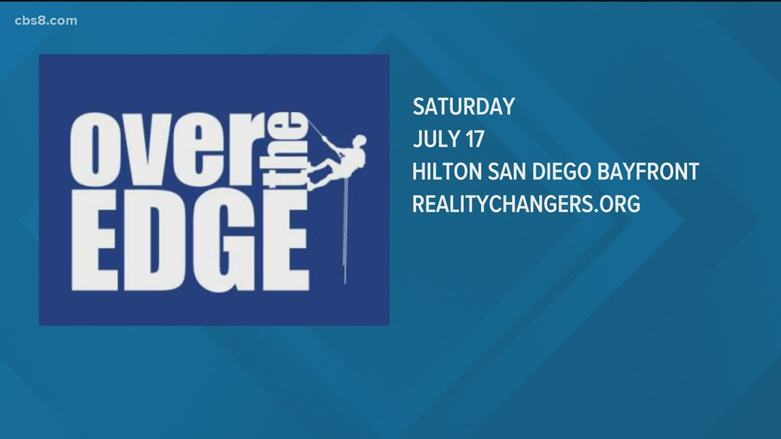 Over the Edge fundraiser