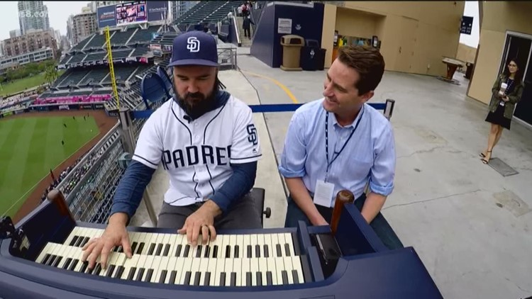 Zevely Zone hits the ballpark with San Diego Padres' organist Bobby Cressey