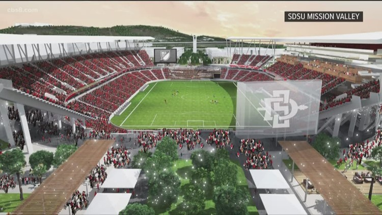 Cal State Board approves SDSU's Mission Valley stadium plans