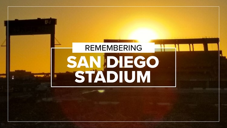 San Diego Stadium: A walk down memory lane