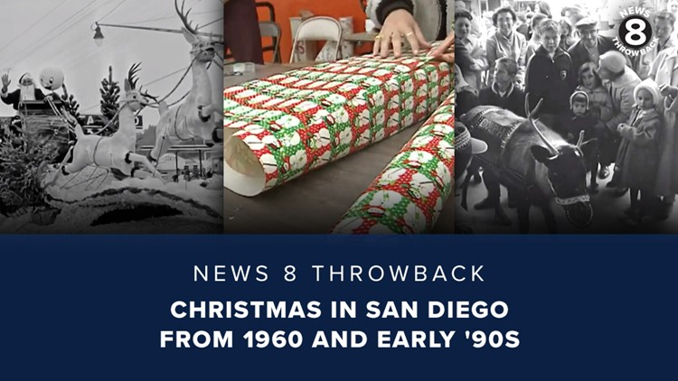 News 8 Throwback: Christmas in San Diego from 1960 and early '90s