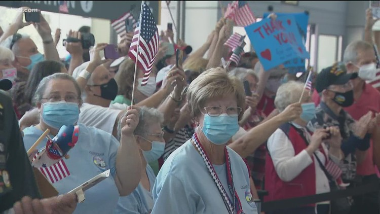 First Honor Flight since start of pandemic returns to San Diego