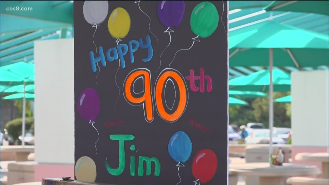 San Diego veteran receives over 500 birthday cards