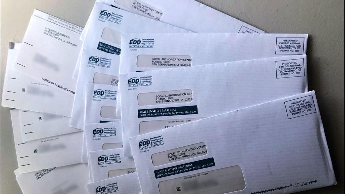 Fraudulent EDD debit cards & letters arriving in the mail across