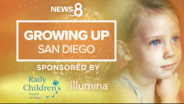 8's GROWING UP SAN DIEGO. Growing up healthy and happy is our hope for every child.