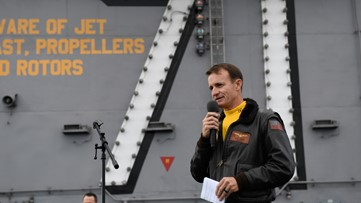 Report: Navy captain fired after requesting COVID-19 help tests positive for novel coronavirus