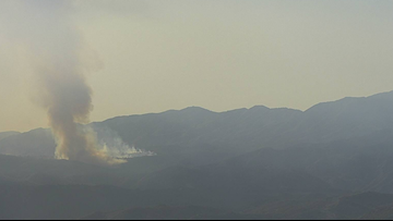 Crews subdue 140-acre fire burning on east side of Camp Pendleton