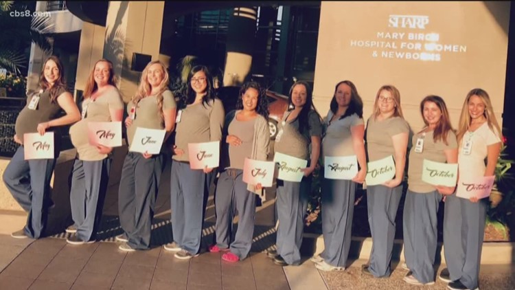 14 staff members at San Diego hospital pregnant at once