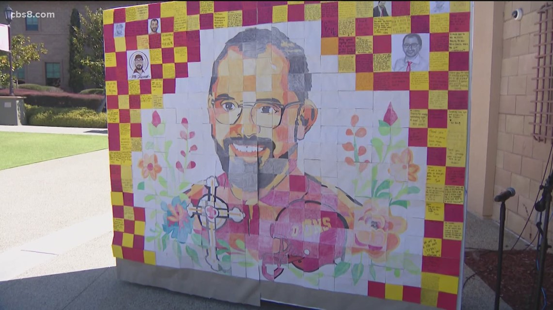 Cathedral Catholic High School remembers Mario Fierro