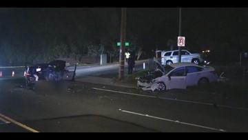 Man arrested on suspicion of DUI, causing wrong way crash injuring 2 men