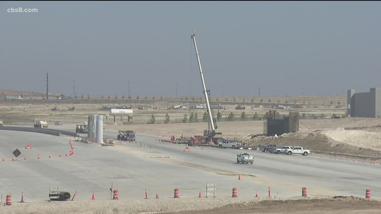 New Otay Mesa East Port of Entry crossing to finish in 2024