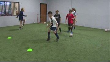 Learn to play soccer through innovative technical training in San Marcos