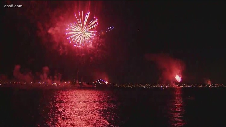 Fourth of July events throughout San Diego County