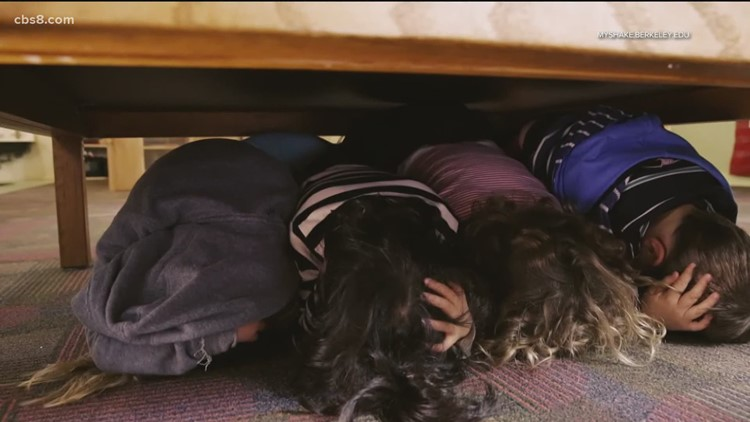 San Diego County schools, businesses, government agencies set for earthquake drill on Thursday