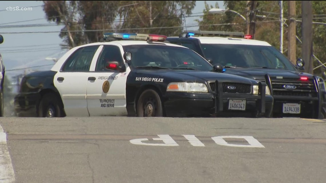 SDPD officers rally and leaving jobs due to vaccine mandate