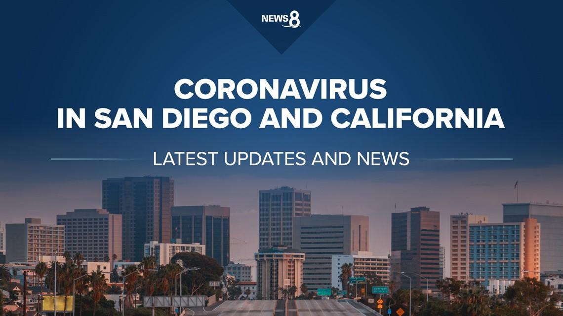 Coronavirus in San Diego and California: Aug. 23 - 25 (afternoon), 2020