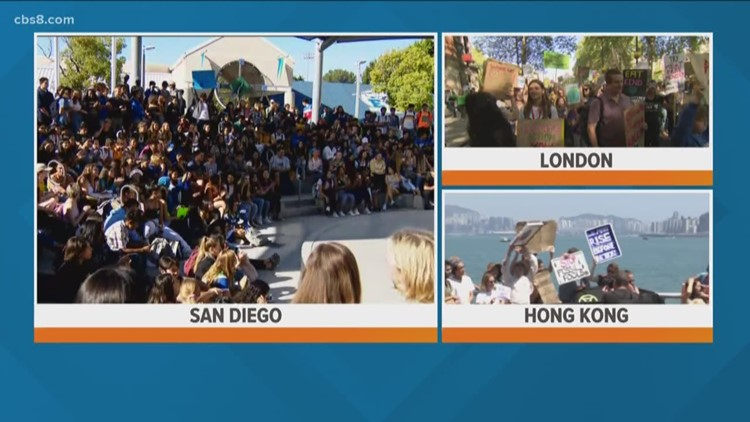 San Diego students join thousands around the world in global climate walkout