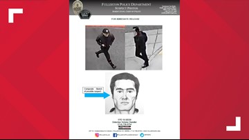 Sketch of suspect released in Cal State Fullerton campus slaying