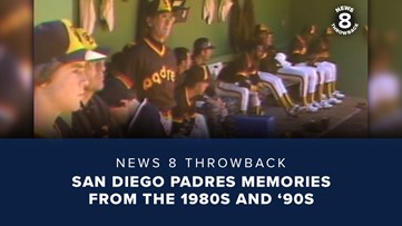 News 8 Throwback: San Diego Padres memories from the 1980s and '90s