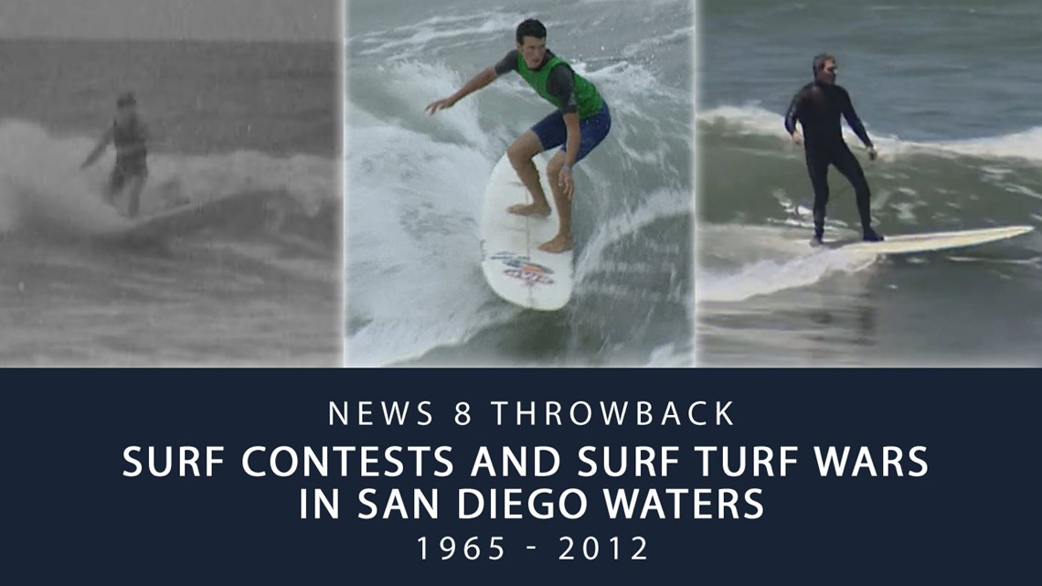 News 8 Throwback: Surf contests and surf turf wars in San Diego waters
