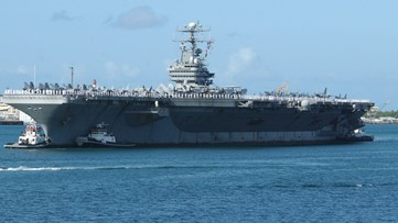 Sending help to Navy sailors on extended deployment onboard USS Abraham Lincoln