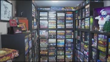 San Diego architect owns 600 board games