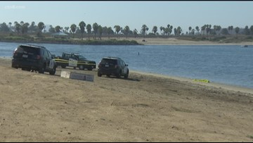 Police investigating after woman's body found floating in water near Fiesta Island