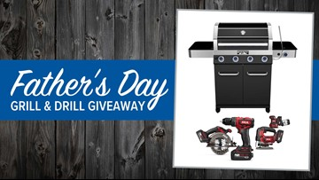 Father's Day Grill & Drill Giveaway!