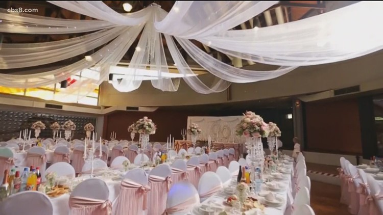 California releases new guidelines for private events and weddings