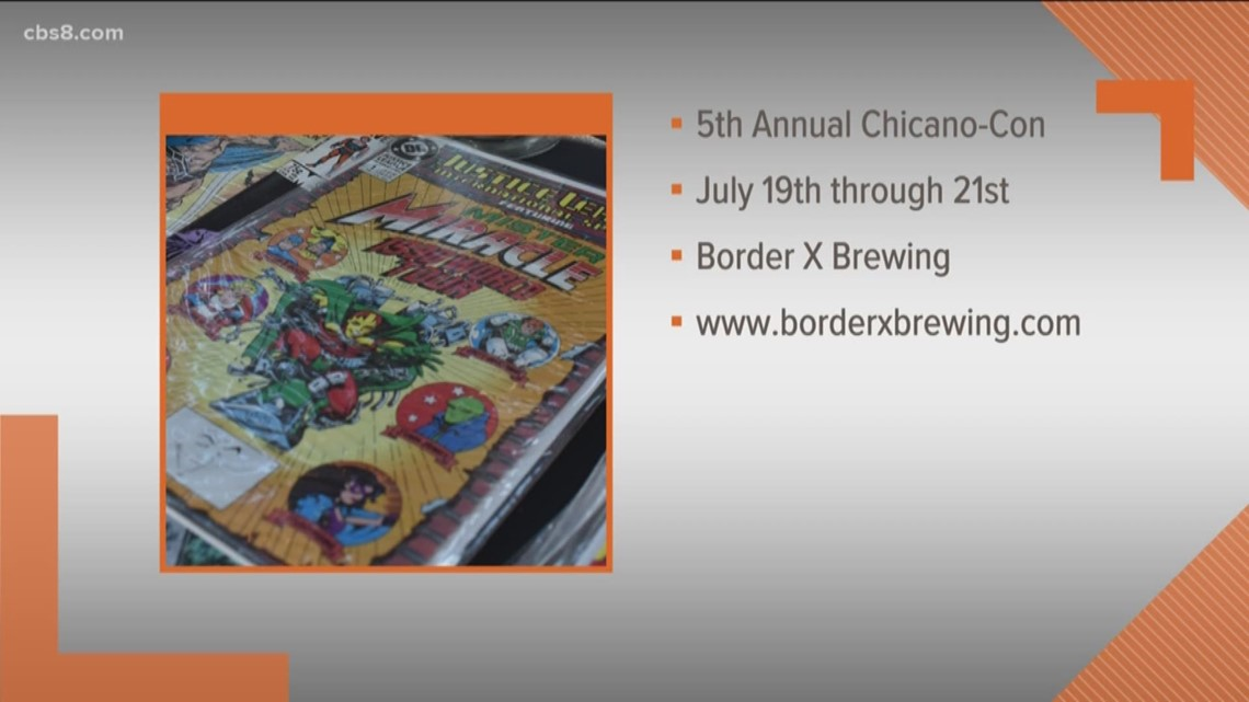 5th Annual 'Chicano-Con 2019' at Border X Brewing July 19-21