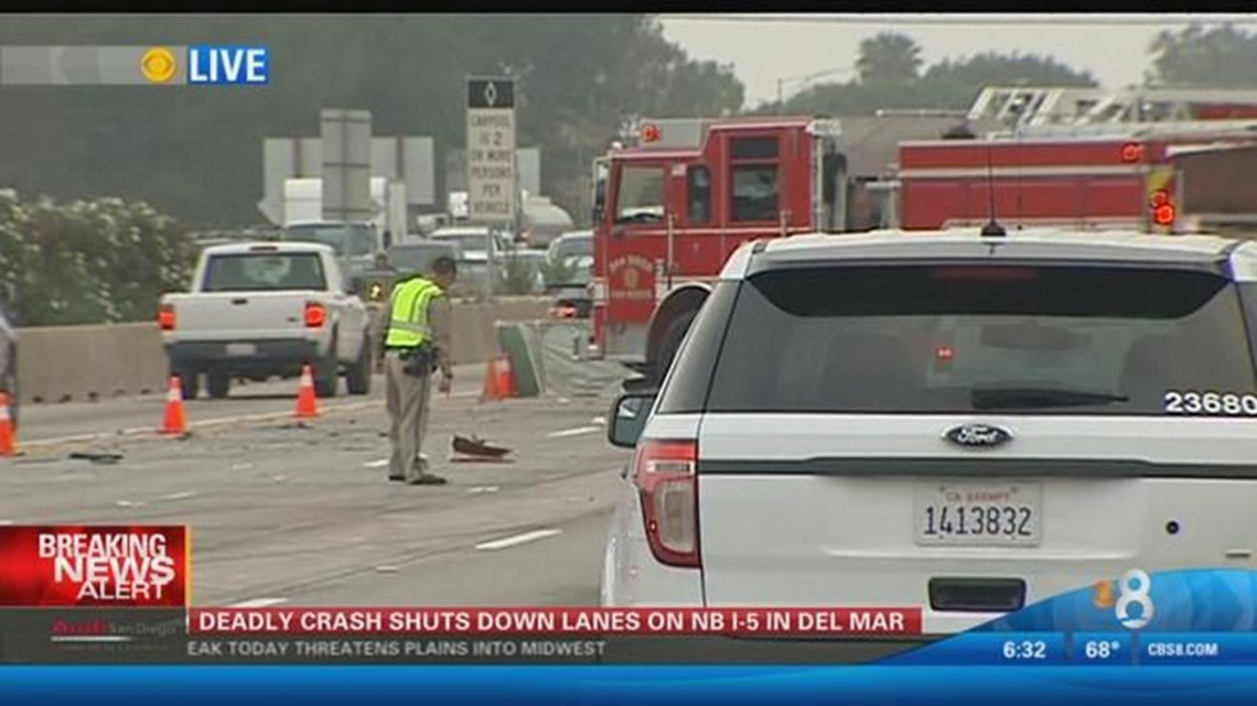 6:30AM UPDATE: SigAlert: Fatal accident on NB I-5 at Via De La Valle