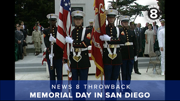 News 8 Throwback: Memorial Day in San Diego over the years