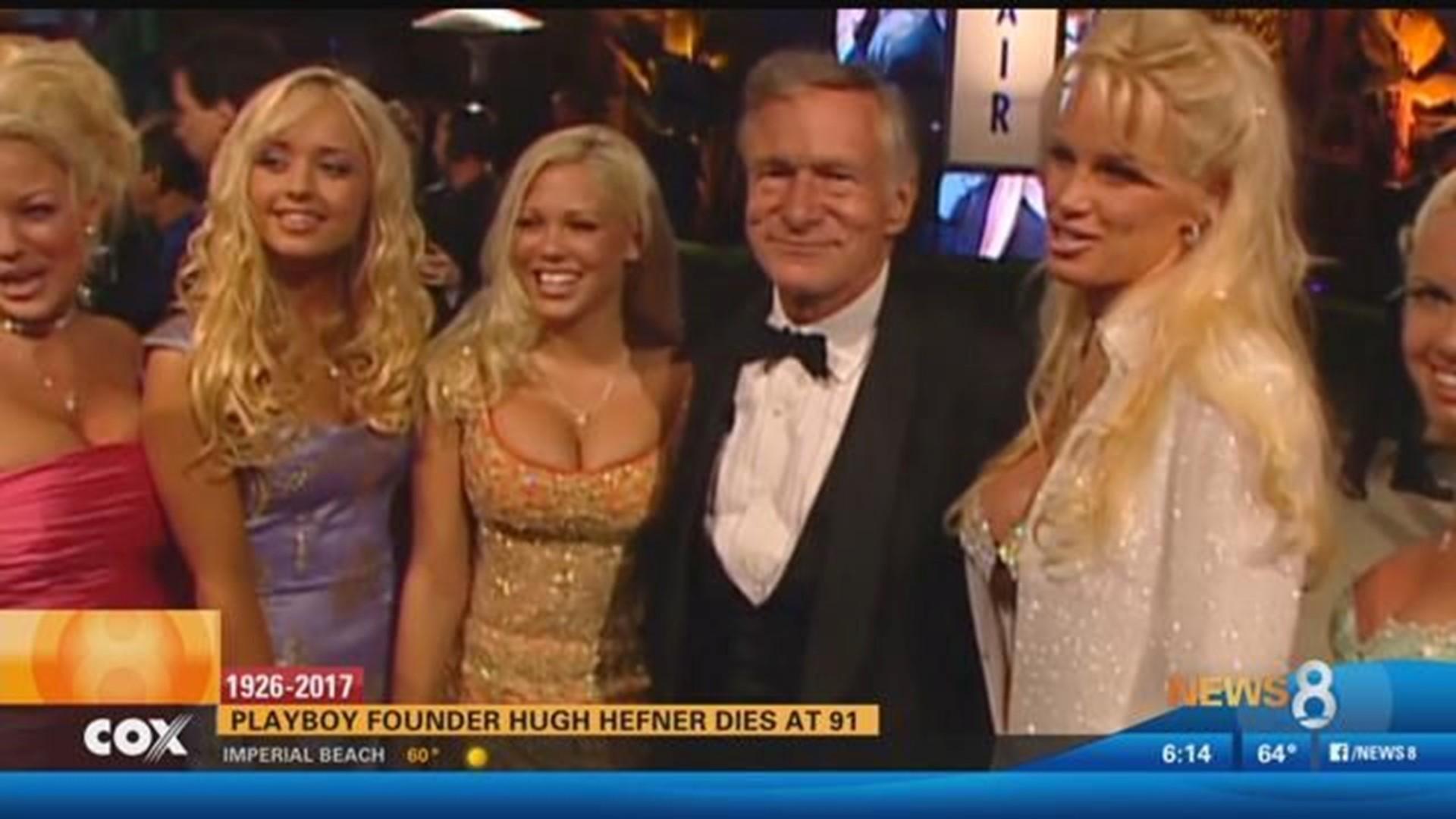 Hugh Hefner Leader Of The Sexual Revolution Dies At 91 Cbs8 Com