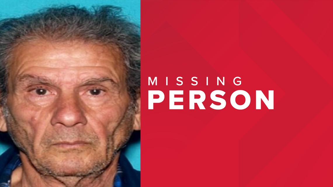 Alzheimer's patient, 75, goes missing