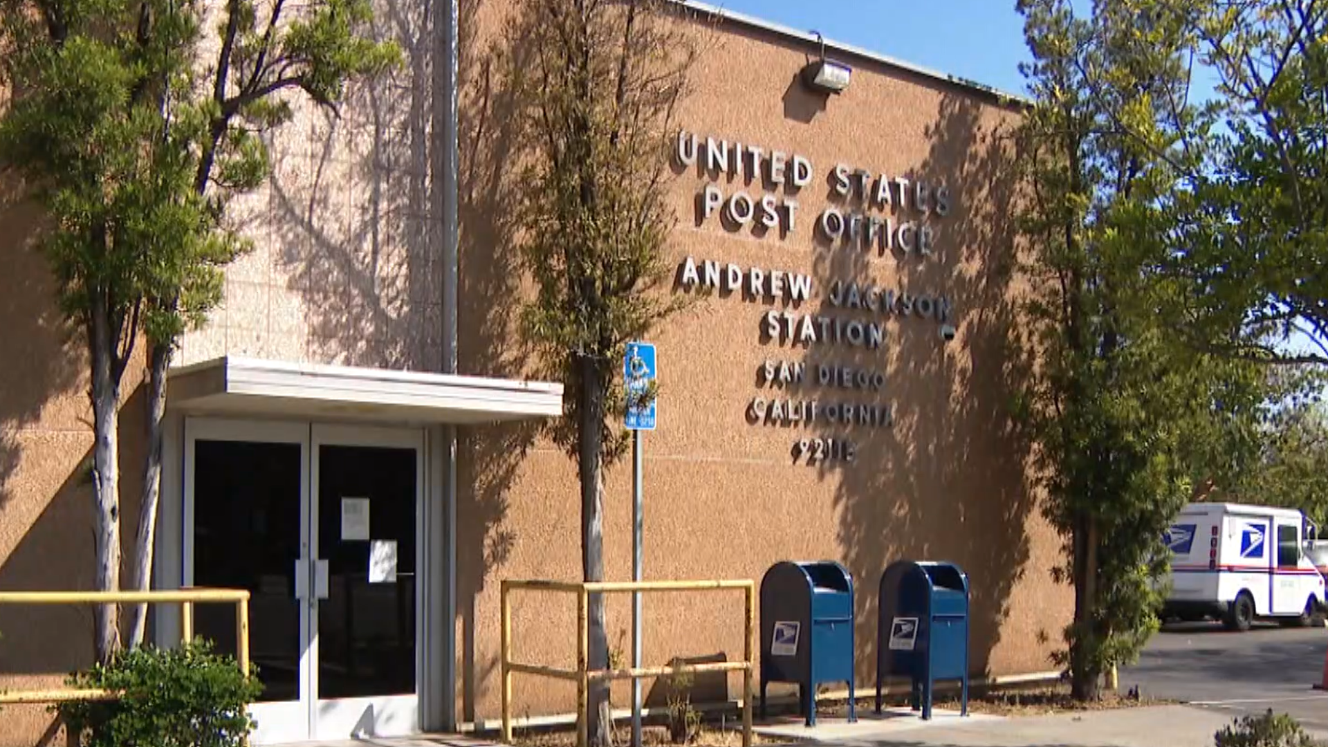 Petition Circulates To Have Andrew Jackson Post Office In San Diego Renamed Cbs8 Com