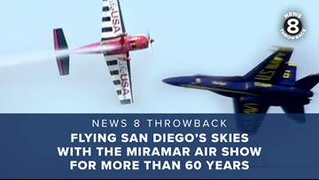 News 8 Throwback: Flying San Diego's skies with the Miramar Air Show