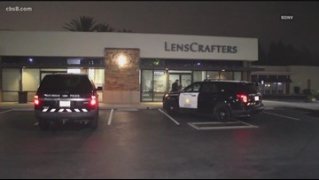 Thieves break into Carmel Mountain LensCrafters  store