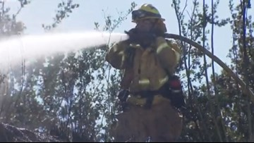 San Diego Fire-Rescue ramps up staffing due to Santa Ana wind event