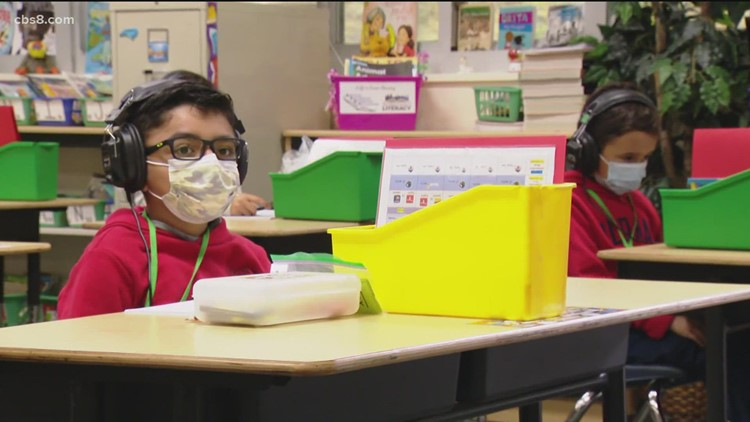 San Diego Unified School District students prepare to go back to school