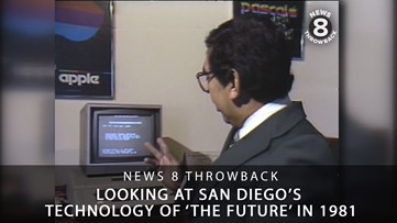 News 8 Throwback goes 'back to the future': A look at San Diego's technology in 1981