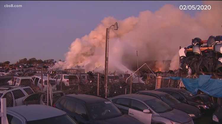 Firefighters look into cause of Cactus Fire, similar industrial fires