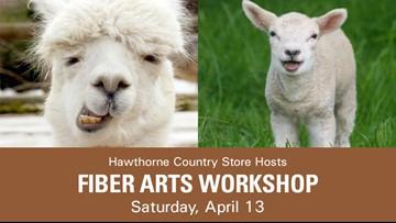 Got sheep? Got alpacas? Got fleece? Join the Fiber Arts Workshop this weekend