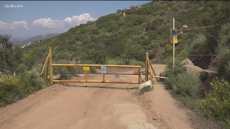 Access to Valley View truck trail in question