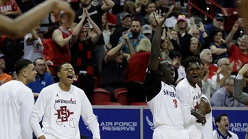 No. 5 San Diego State shakes off Air Force, will face Boise State next