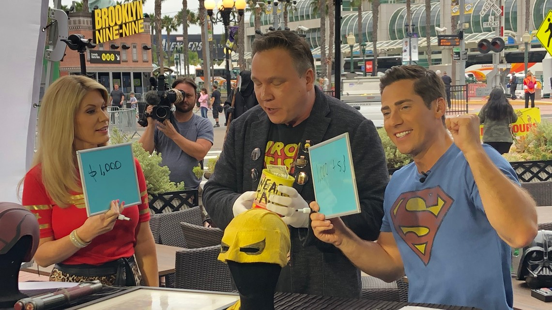 Morning Extra continues the fun at Lou & Mickey's for Comic-Con
