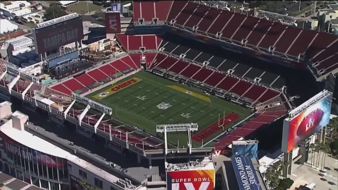 Preview of the Super Bowl experience in Tampa
